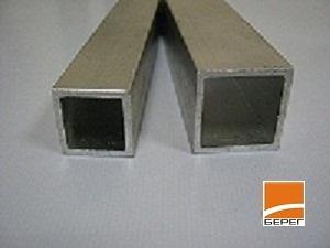 Труба алюминиевая: 20х20х1.5; 25х25х2